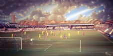 Aldershot Town  20'' x 30'' Box Canvas